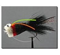 Bass Popper Deer Hair Black - 1