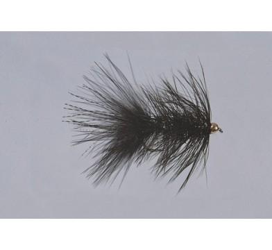 Beadhead Black Krystal Bugger  WTD - 1