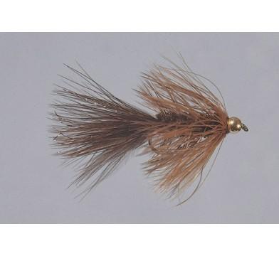 Beadhead Brown Wooly Bugger  WTD - 1