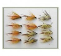 12 Dabblers - Hackled and Flaming Mayflies - 1