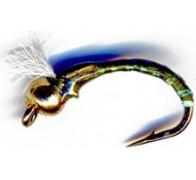 3D Glass Epoxy Bead Head Buzzer Olive