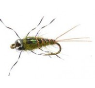 Atomic Mayfly BH Olive - 1