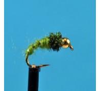 Bead Head Caddis Green