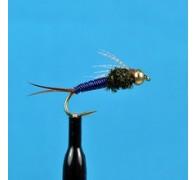 Bead Head Copper John Blue