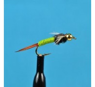 Bead Head Copper John Chartreuse